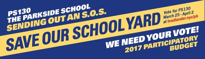 Save Our Schoolyard!