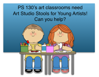 Help with the PS130 Art Classrooms!