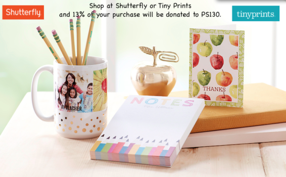 Shop at Shutterfly or Tiny Prints and Earn Money for PS130!